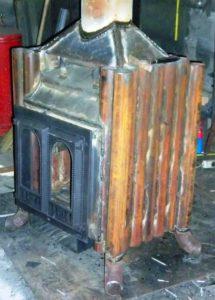 Изготовление отопительных печек из металла