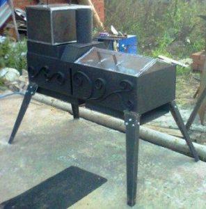 Изготовление мангалов и барбекю из металла