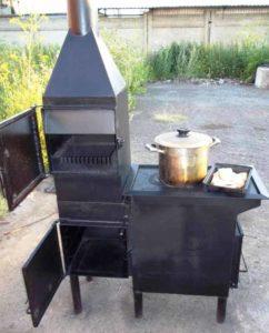 Изготовление варочных печей из металла
