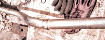 Сварка алюминия - завариваем алюминиевую ручку мотокосилки