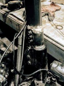 Сварка алюминия, ремонт алюминиевого электросамоката