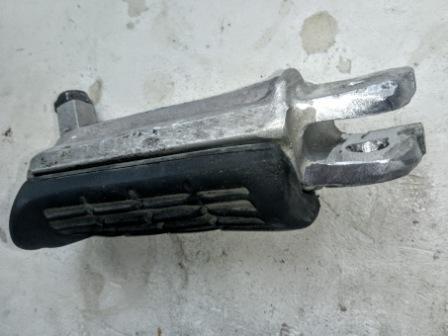 Сварка алюминиевой подножки Yamaha