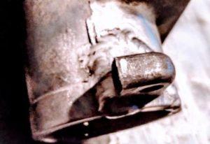 Сварка алюминия, алюминиевая пастель распред-вал Нексия