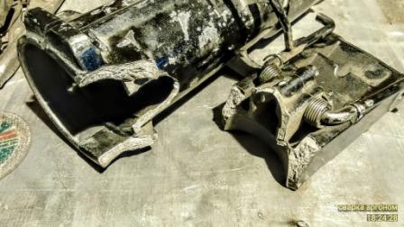 Сварка аргоном алюминиевого упора для лодочного мотора