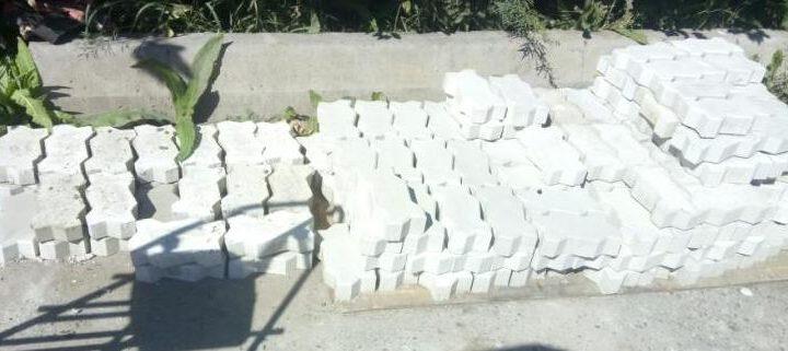 Изготовление тротуарной бетонной плитки своими руками.
