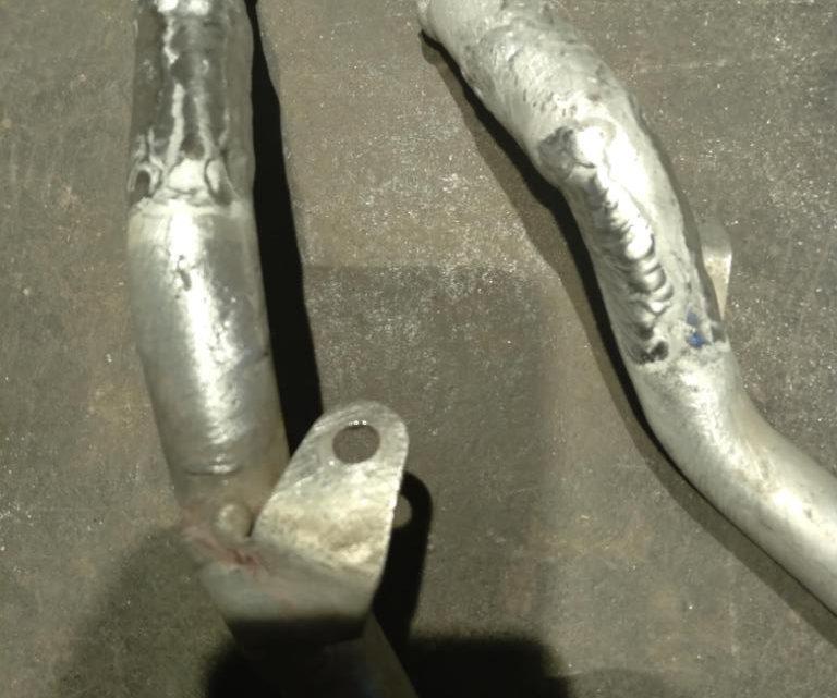 Ремонт алюминиевого патрубка охлаждения на VW Touareg — Сварка аргоном.